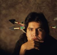 sherman alexie author of the absolutely true diary of a