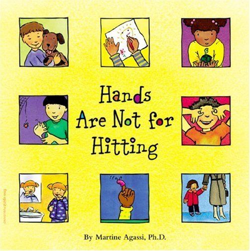 No Hitting Sign Hands are not for hitting