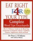Eat Right 4 Your Type: Complete Blood Type Encyclopedia:  The A Z Reference Guide For The Blood Type Connection To Symptoms, Disease, Vitamins, Supplements, Herbs, And Food