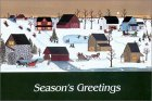 Amish Winter Season's Greetings [With 12 Envelopes]