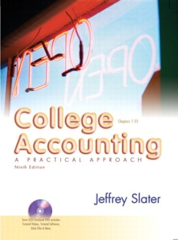 College Accounting: A practical approach 1-25