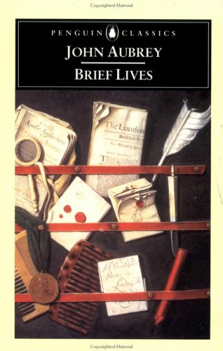 Brief Lives by John Aubrey