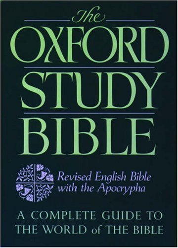 Oxford Study Bible-Reb by M. Jack Suggs