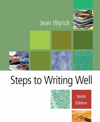 Steps to Writing Well [with Infotrac]
