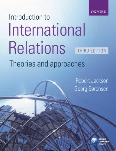 Introduction to International Relations by Robert Jackson