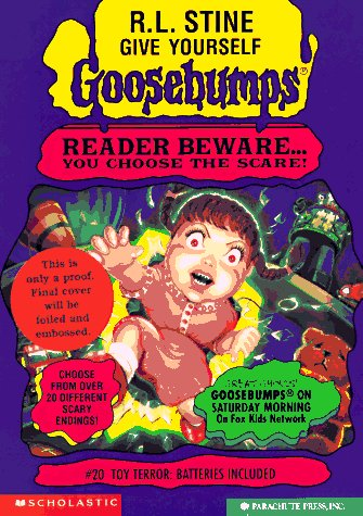 Free download Toy Terror: Batteries Included (Give Yourself Goosebumps #20) iBook by R.L. Stine