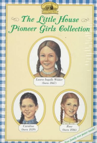 The Little House Pioneer Girls Collection Boxed Set (Little House in the Big Woods, Little House in Brookfield, Little House on Rocky Ridge)