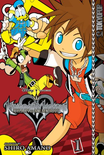 Kingdom Hearts Chain of Memories Vol. 1 by Shiro Amano
