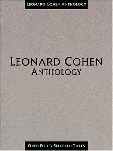 Anthology by Leonard Cohen