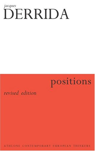 EPZ Positions by Jacques Derrida