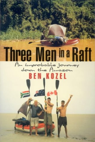 Three Men In A Raft by Ben Kozel