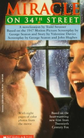 The Miracle on 34th Street by Todd Strasser