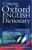 Concise Oxford English Dictionary [With CDROM] by Oxford University Press