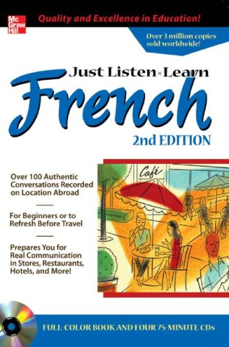 Just Listen 'n' Learn French 2e [With (3) CD] by Stephanie Rybak