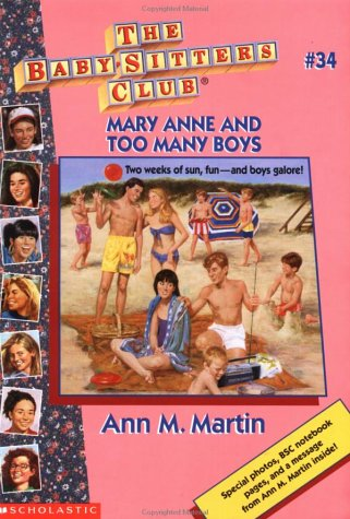 Mary Anne and Too Many Boys by Ann M. Martin