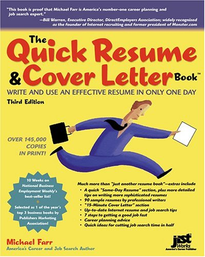 The quick resume and cover letter book