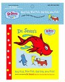 Red Fish, Blue Fish, Old Fish, New Fish: An Utterly Stupendous Vinyl Extravaganza! (Dr. Seuss Nursery Collection) Bath Book