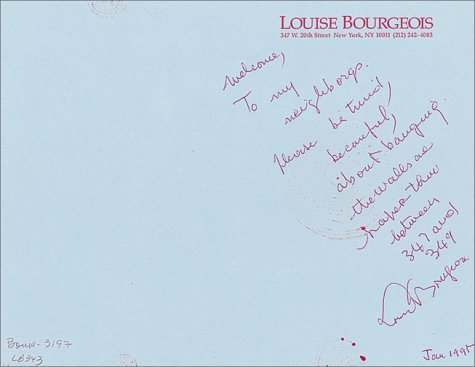 Louise Bourgeois papers, 1922-1994