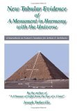 New Tabular Evidence of a Monument in Harmony with the Universe: A Sourcebook on Nature's Numbers for Artists & Architects