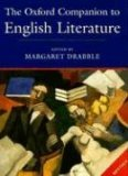 The Oxford Companion to English Literature