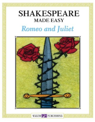 Romeo And Juliet Book Cover Ideas : Shakespeare made easy romeo and juliet by walch
