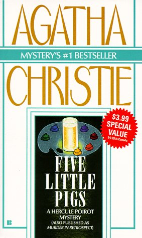 Five Little Pigs by Agatha Christie