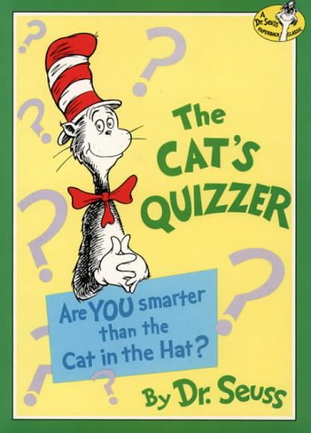 Cat's Quizzer by Dr. Seuss