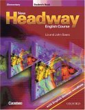 New Headway English Course, Elementary, Student's Book, W. English German Wordlists
