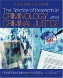 The Practice of Research in Criminology and Criminal Justice [With CDROM]