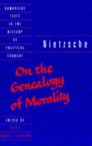 Free download On the Genealogy of Morality (History of Political Thought) CHM by Friedrich Nietzsche, Keith Ansell-Pearson, Carol Diethe