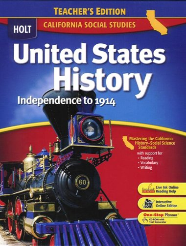 Holt Mcdougal United States History: Student Edition ...