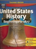 United States History: Beginnings to 1877 (Holt Social Studies)