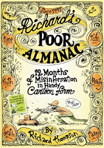 Richard's Poor Almanac: 12 Months of Misinformation in Handy Cartoon Form