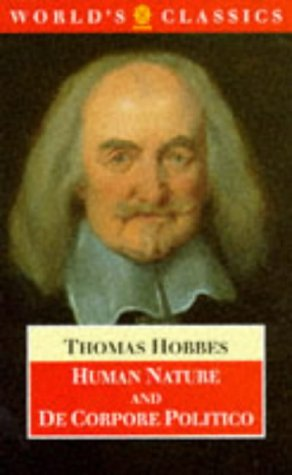 The Elements of Law, Natural and Politic by Thomas Hobbes