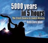 Rabbi Berel Wein's Crash Course In Jewish History: 5000 Years In 5 Hours