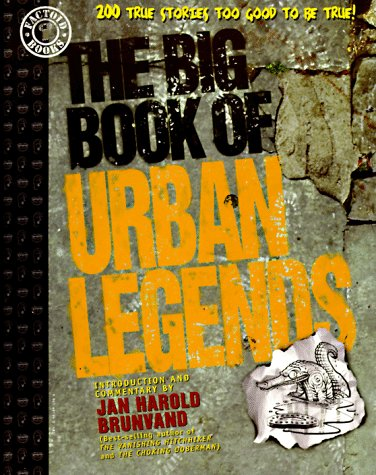 The Big Book of Urban Legends by Robert Loren Fleming