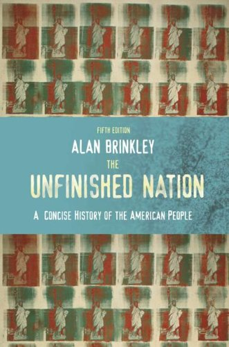 The Unfinished Nation by Alan Brinkley