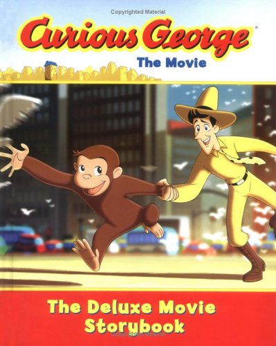 curious george the movie the deluxe movie storybook by