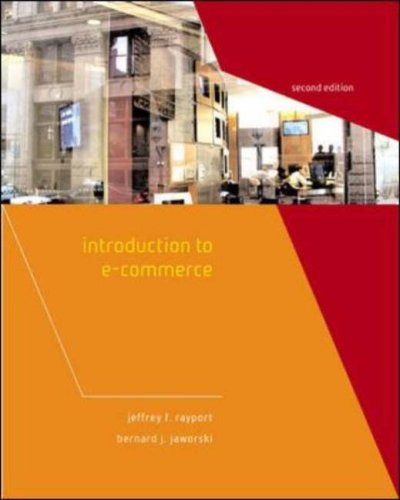 Introduction to E-Commerce by Jeffrey F. Rayport