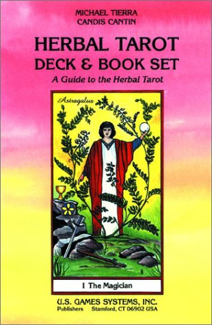 Herbal Tarot Deck Book Set: A Guide to the Herbal Tarot