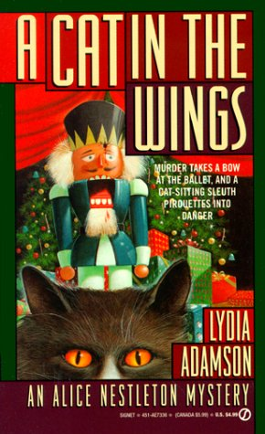 A Cat in the Wings by Lydia Adamson