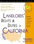 Landlord's Rights & Duties in California