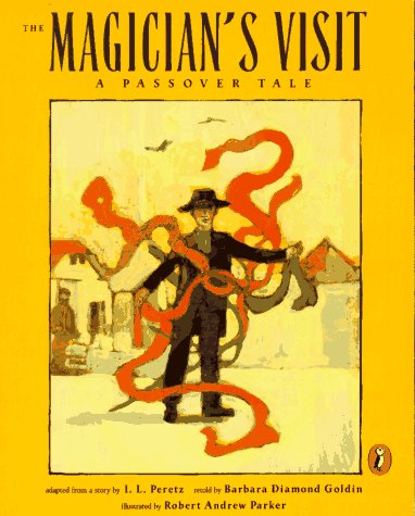 The Magician's Visit by Barbara Diamond Golden