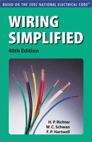 Wiring Simplified: Based on the 2002 National Electrical Code