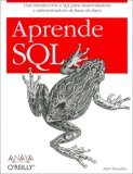 Aprende Sql (Anaya Multimeda/O'reilly)