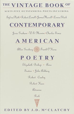 The Vintage Book Of Contemporary American Poetry by J.D. McClatchy