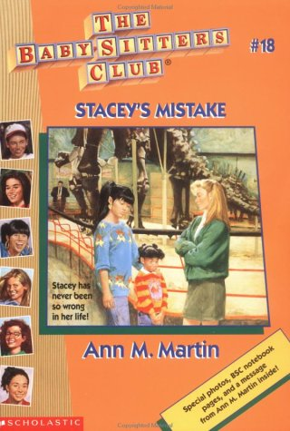 Stacey's Mistake by Ann M. Martin