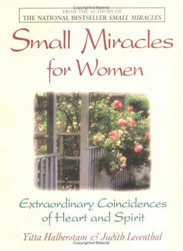Small Miracles for Women by Yitta Halberstam