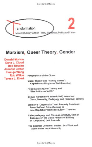 Marxism, Queer Theory, Gender by Mas'ud Zavarzadeh