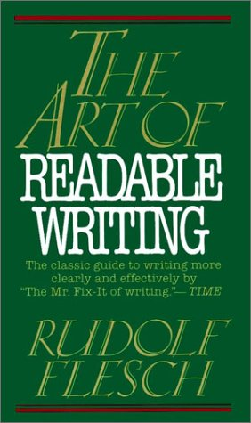 Writing and Readability Scores: It Matters